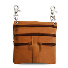 Load image into Gallery viewer, women crossbody messenger handbag tan
