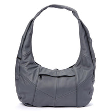 Load image into Gallery viewer, Large Top Zip Hobo Genuine Leather Rich Multi Color - WholesaleLeatherSupplier.com  - 18