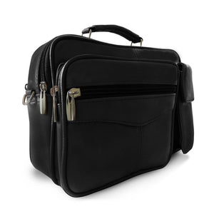 Leather Office Shoulder Bag