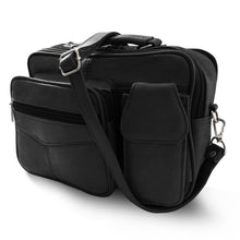 Load image into Gallery viewer, Leather Office Shoulder Bag