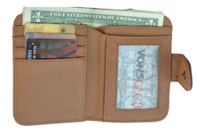 Load image into Gallery viewer, Unisex Small Leather Wallet