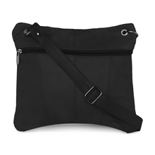 Load image into Gallery viewer, Multi Pocket Leather Crossbody by AFONiE™