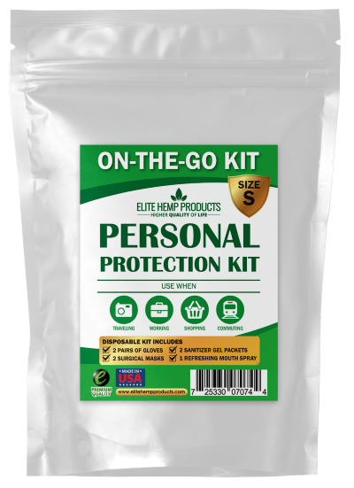 On-the-go Personal Protection Kit