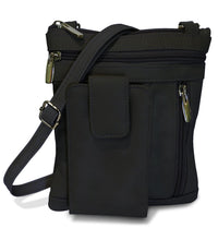 Load image into Gallery viewer, Leather Crossbody Handbag