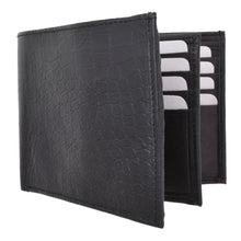 Load image into Gallery viewer, Croco Bifold Leather Wallet by AFONiE™