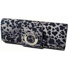 Load image into Gallery viewer, Leopard Print Baguette Style Evening Bag