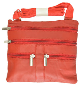 Soft, Thin, Light, Leather Mini Crossbody Purse - WholesaleLeatherSupplier.com  - 38