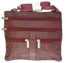 Load image into Gallery viewer, Soft, Thin, Light, Leather Mini Crossbody Purse - WholesaleLeatherSupplier.com  - 32