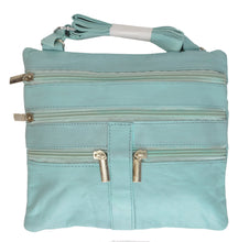 Load image into Gallery viewer, Soft, Thin, Light, Leather Mini Crossbody Purse - WholesaleLeatherSupplier.com  - 34