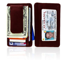 Load image into Gallery viewer, Genuine Leather Magnetic Money Clip - WholesaleLeatherSupplier.com  - 1