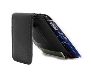Genuine Leather Magnetic Money Clip - WholesaleLeatherSupplier.com  - 5