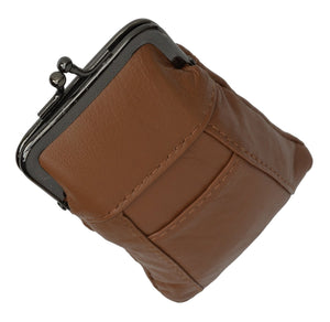Genuine Leather Case with 1 Back Pocket