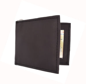 AFONiE Leather Money Clip Wallet For Men