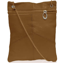 Load image into Gallery viewer, Multi-Pocket Leather Crossbody Bag or Wallet