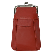 Load image into Gallery viewer, Leather Cigarette Case with Back Pocket