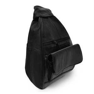 Sling Leather Backpack by AFONiE™