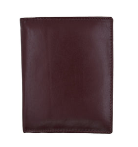 AFONIE Men Leather Biker Wallet