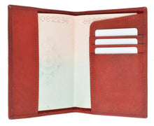 Load image into Gallery viewer, Leather Passport Cover