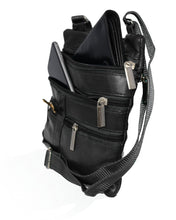 Load image into Gallery viewer, Soft, Thin, Light, Leather Mini Crossbody Purse - WholesaleLeatherSupplier.com  - 5
