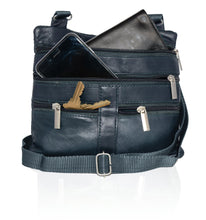 Load image into Gallery viewer, Soft, Thin, Light, Leather Mini Crossbody Purse - WholesaleLeatherSupplier.com  - 10