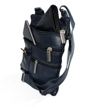 Load image into Gallery viewer, Soft, Thin, Light, Leather Mini Crossbody Purse - WholesaleLeatherSupplier.com  - 9