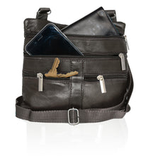 Load image into Gallery viewer, Soft, Thin, Light, Leather Mini Crossbody Purse - WholesaleLeatherSupplier.com  - 14
