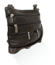 Load image into Gallery viewer, Soft, Thin, Light, Leather Mini Crossbody Purse - WholesaleLeatherSupplier.com  - 12
