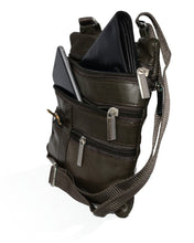 Load image into Gallery viewer, Soft, Thin, Light, Leather Mini Crossbody Purse - WholesaleLeatherSupplier.com  - 13