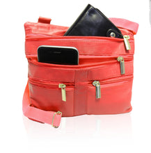 Load image into Gallery viewer, Soft, Thin, Light, Leather Mini Crossbody Purse - WholesaleLeatherSupplier.com  - 18
