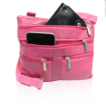 Load image into Gallery viewer, Soft, Thin, Light, Leather Mini Crossbody Purse - WholesaleLeatherSupplier.com  - 22