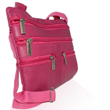 Load image into Gallery viewer, Soft, Thin, Light, Leather Mini Crossbody Purse - WholesaleLeatherSupplier.com  - 20
