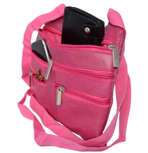 Load image into Gallery viewer, Soft, Thin, Light, Leather Mini Crossbody Purse - WholesaleLeatherSupplier.com  - 21