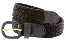 Load image into Gallery viewer, Braided Stretch Belt - WholesaleLeatherSupplier.com  - 4