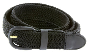 Braided Stretch Belt - WholesaleLeatherSupplier.com  - 20