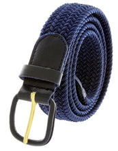 Load image into Gallery viewer, Braided Stretch Belt - WholesaleLeatherSupplier.com  - 12
