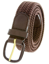 Load image into Gallery viewer, Braided Stretch Belt - WholesaleLeatherSupplier.com  - 11
