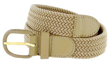 Load image into Gallery viewer, Braided Stretch Belt - WholesaleLeatherSupplier.com  - 5