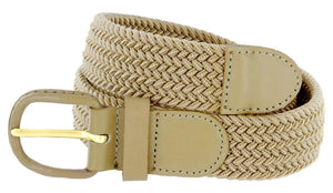 Braided Stretch Belt - WholesaleLeatherSupplier.com  - 5