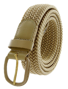 Braided Stretch Belt - WholesaleLeatherSupplier.com  - 15