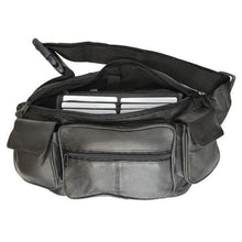 Load image into Gallery viewer, Unisex Leather Fanny Pack by AFONiE™