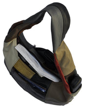 Load image into Gallery viewer, Large Top Zip Hobo Genuine Leather Rich Multi Color - WholesaleLeatherSupplier.com  - 4