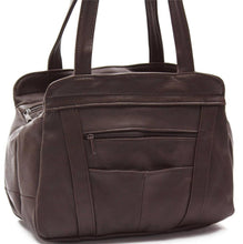 Load image into Gallery viewer, Lifetime Soft Leather Tote Bag - 7 Colors - WholesaleLeatherSupplier.com  - 13
