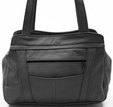 Load image into Gallery viewer, Lifetime Soft Leather Tote Bag - 7 Colors - WholesaleLeatherSupplier.com  - 10