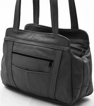 Load image into Gallery viewer, Lifetime Soft Leather Tote Bag - 7 Colors - WholesaleLeatherSupplier.com  - 9