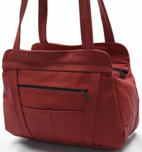 Load image into Gallery viewer, Lifetime Soft Leather Tote Bag - 7 Colors - WholesaleLeatherSupplier.com  - 5