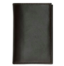 Load image into Gallery viewer, Leather Tri-fold Wallet