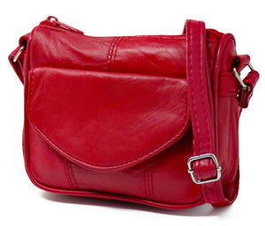 Mini Leather Crossbody by AFONiE™