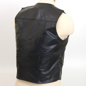 Genuine Leather Vest - WholesaleLeatherSupplier.com  - 5