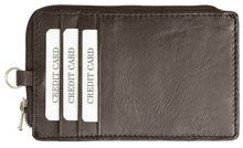 Load image into Gallery viewer, RFID Collection Neck Leather Wallet Brown Color