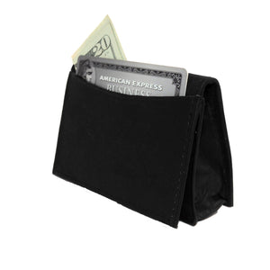 Genuine RFID-Blocking Best Business Card Holder Leather Card Case Excellent Designer - Black - WholesaleLeatherSupplier.com  - 4